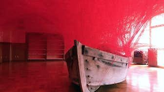 塩田千春 時を運ぶ船 2017