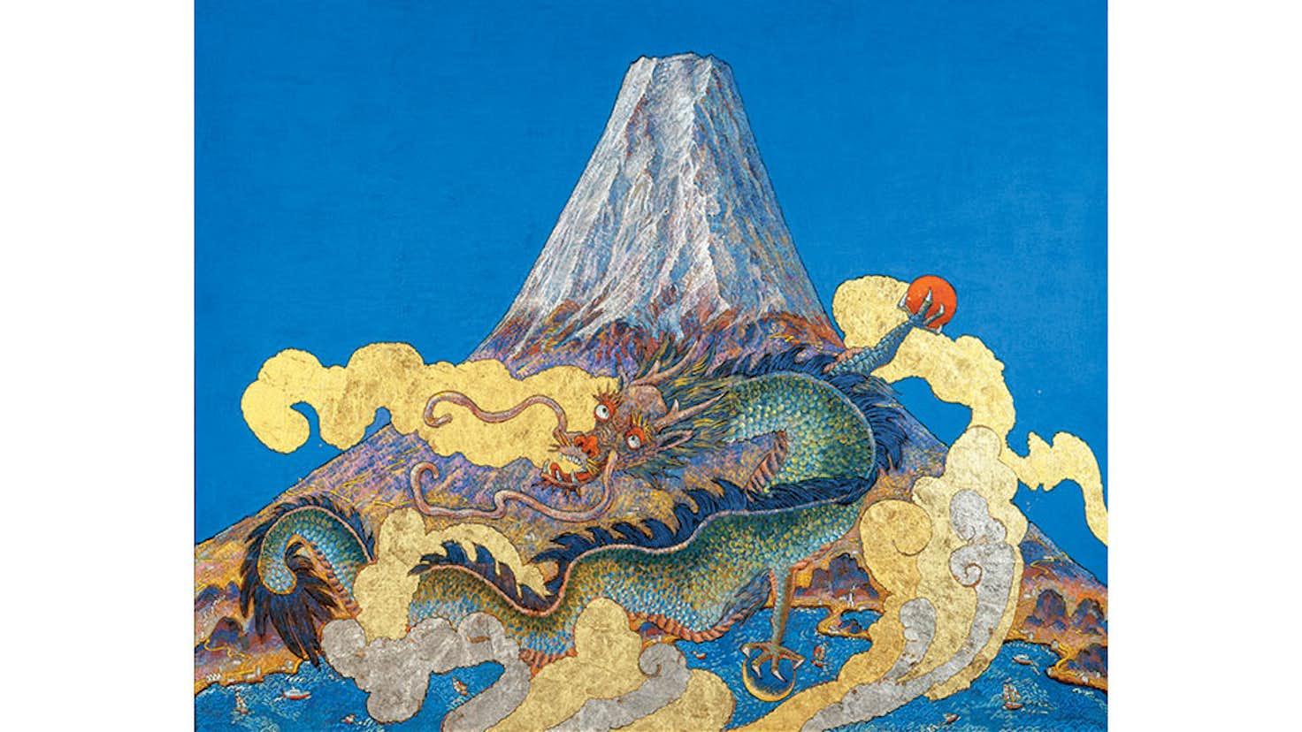 絹谷幸二の世界 -富士山を中心に-(ふくやま美術館) 美術手帖