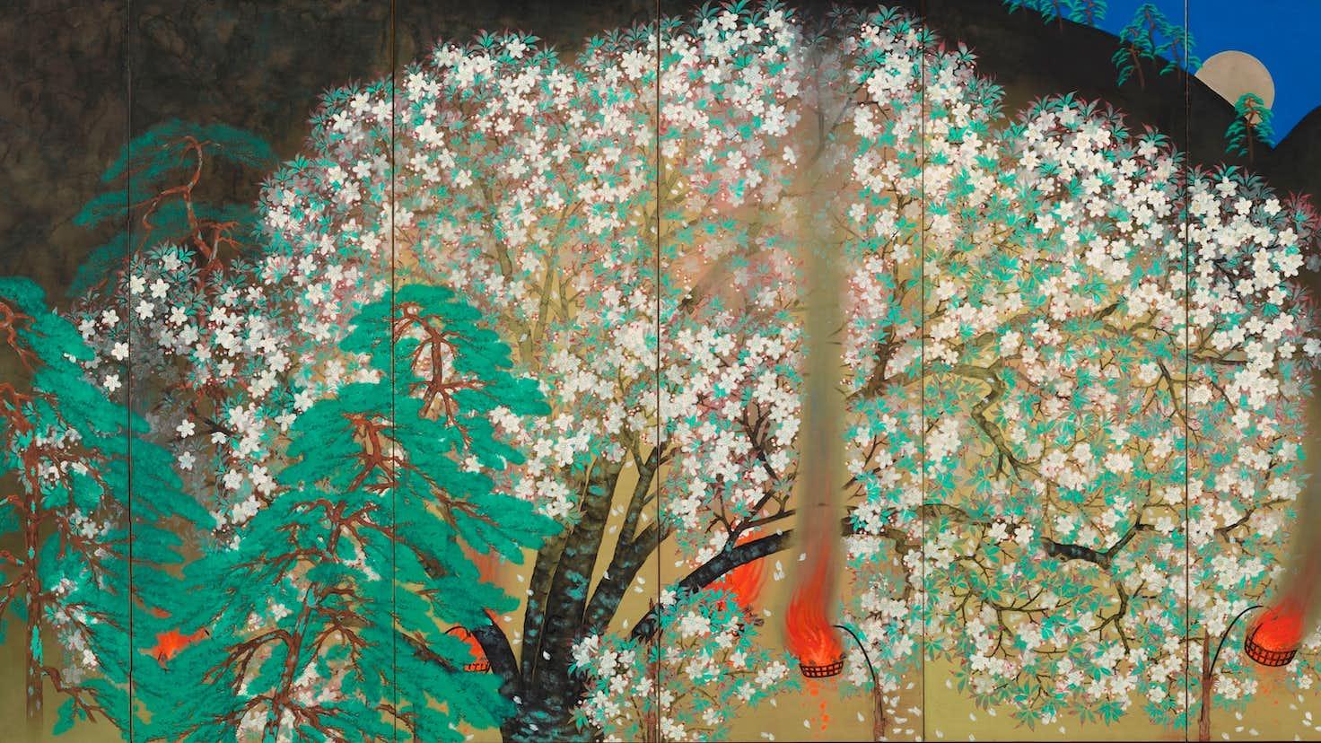 日本一長い画巻も登場。 日本画の巨匠、横山大観の代表作が一堂に ...
