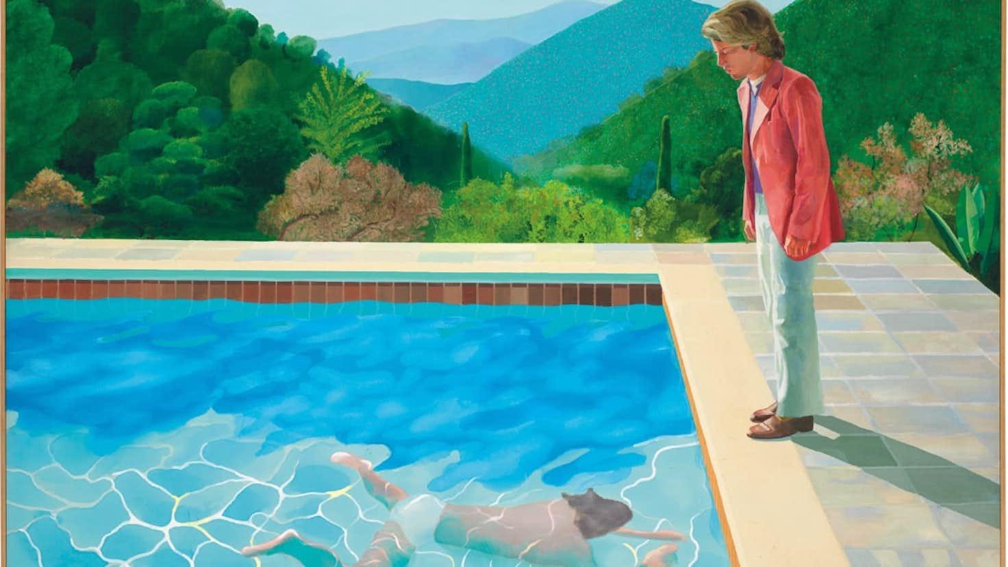 「ホックニー プール」の画像検索結果