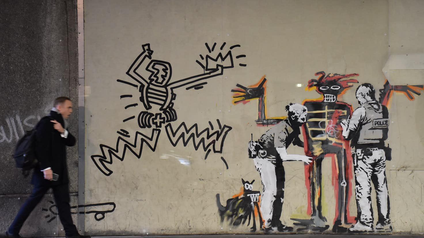 盗難相次ぐバンクシー作品。ストリートアートはどう守られるべきか ...