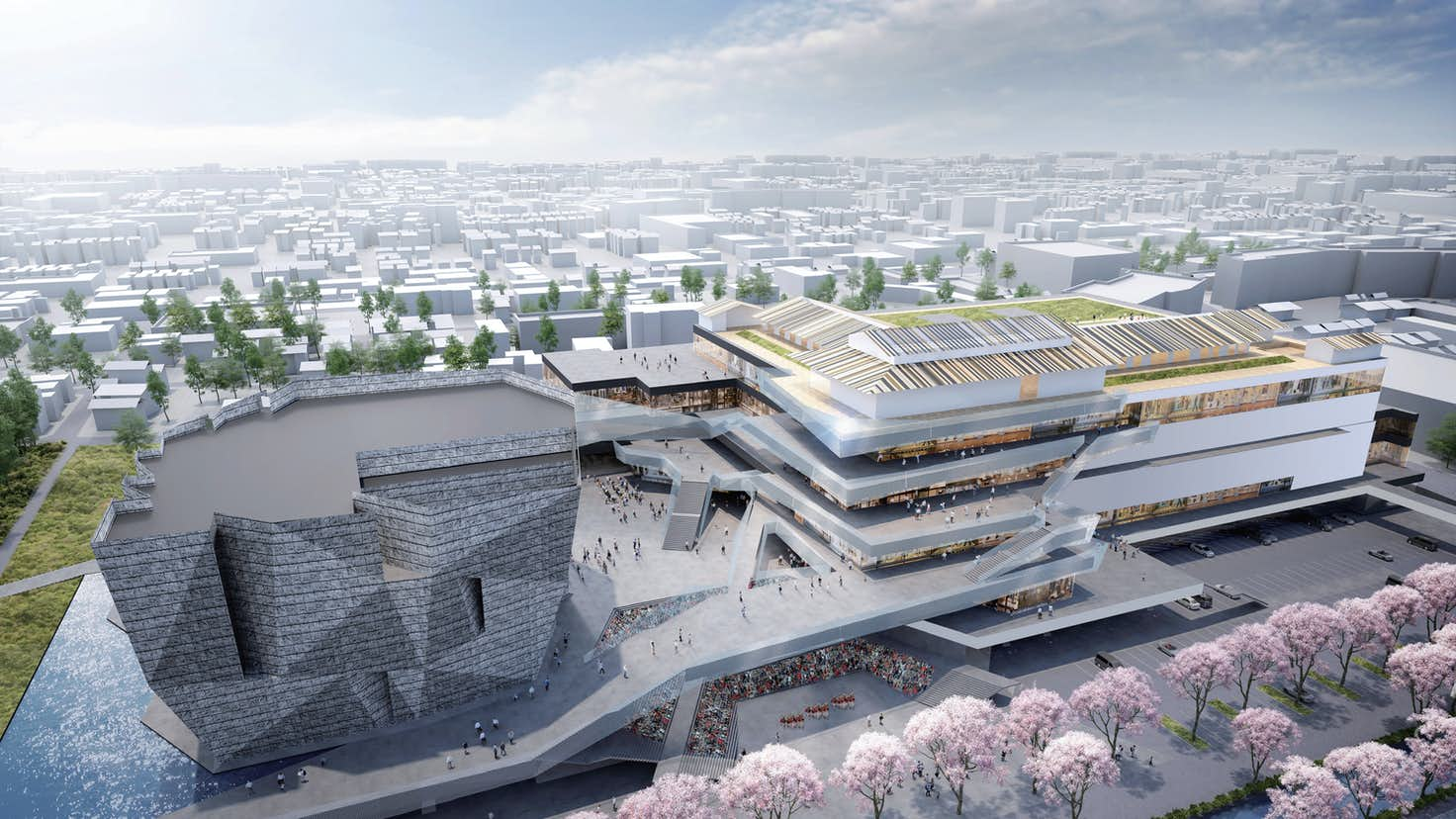 ところざわサクラタウン」とは何か? ランドマークは隈研吾設計の「角川武蔵野ミュージアム」|美術手帖