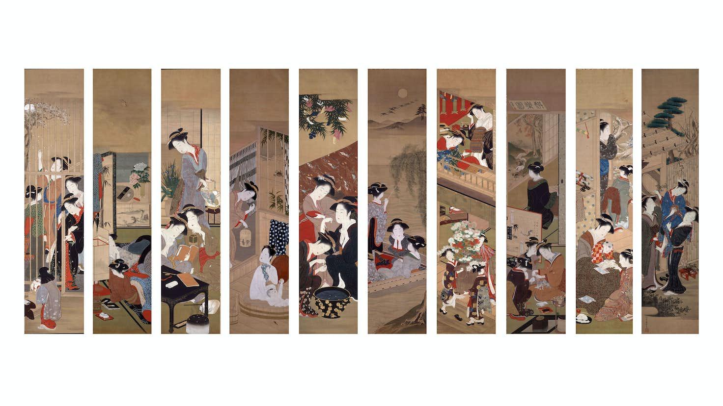 Moa美術館で美人画の名作を堪能する 美人画の系譜 展が開催中